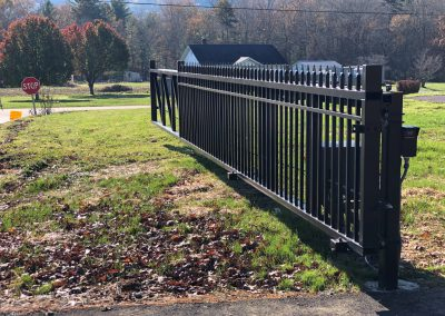 Black Picket Gate 2